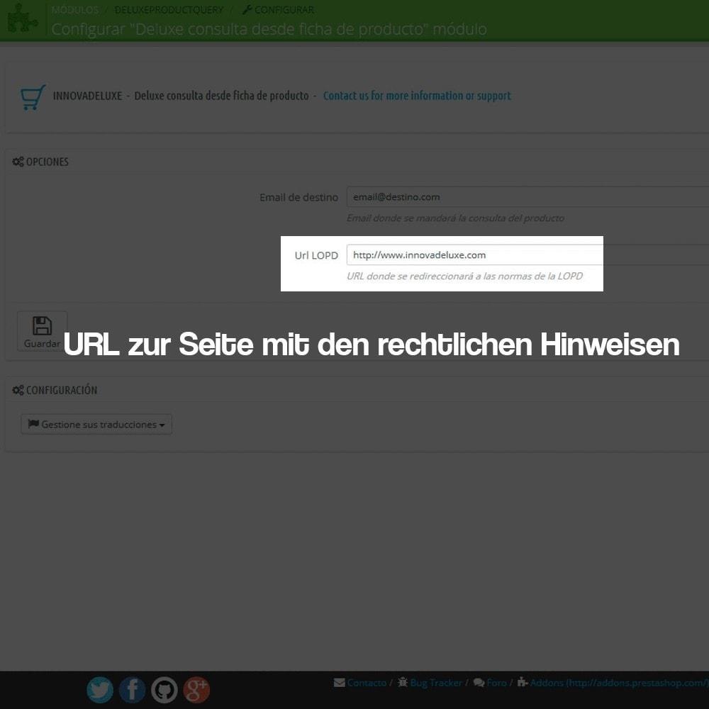 module - Rechtssicherheit - Kontaktformular aus dem Produktblatt - 3