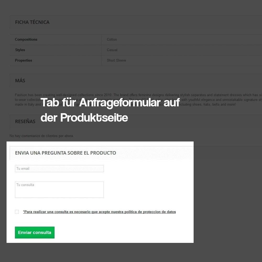 module - Rechtssicherheit - Kontaktformular aus dem Produktblatt - 4