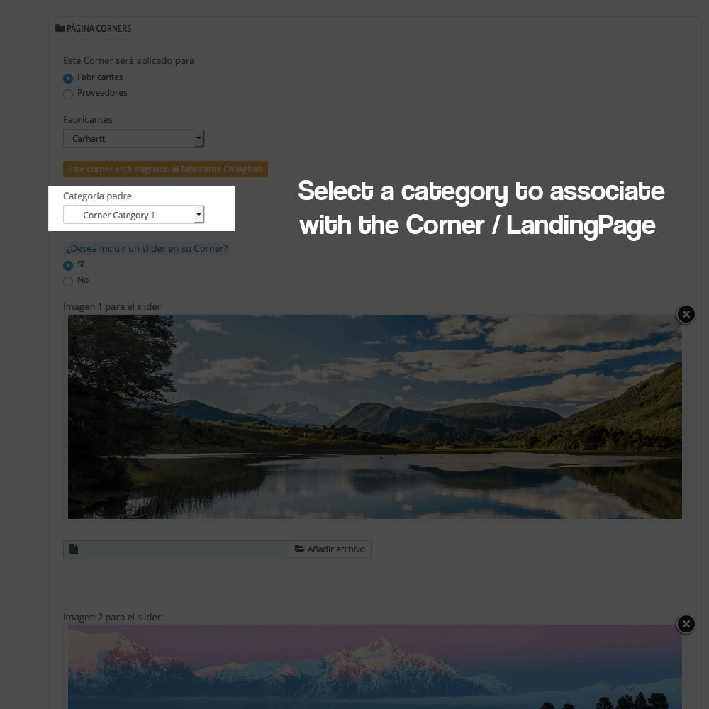 module - SEO (Referenciamento natural) - Landing pages, cornes or microsites creator - 7