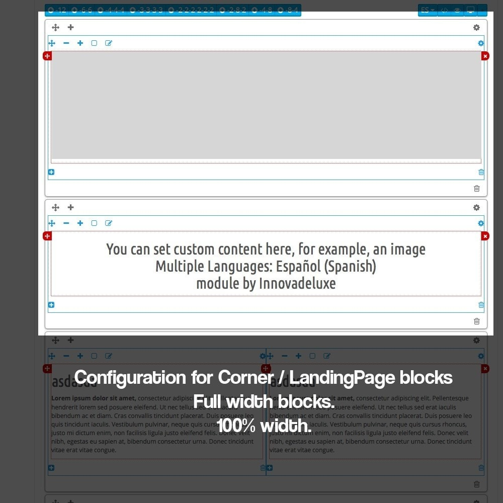 module - SEO - Landing pages, cornes or microsites creator - 11