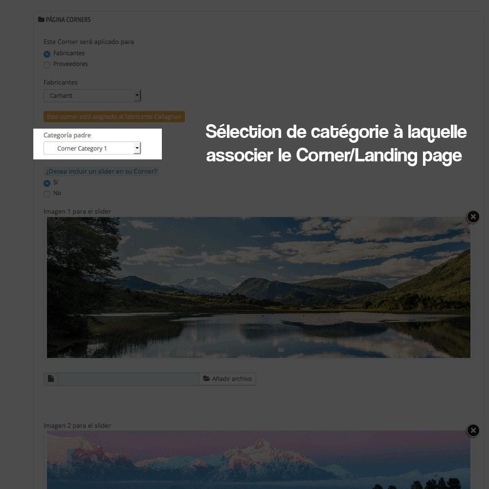 module - SEO (référencement naturel) - Créateur de Landingpages (corners) pour des marques - 7