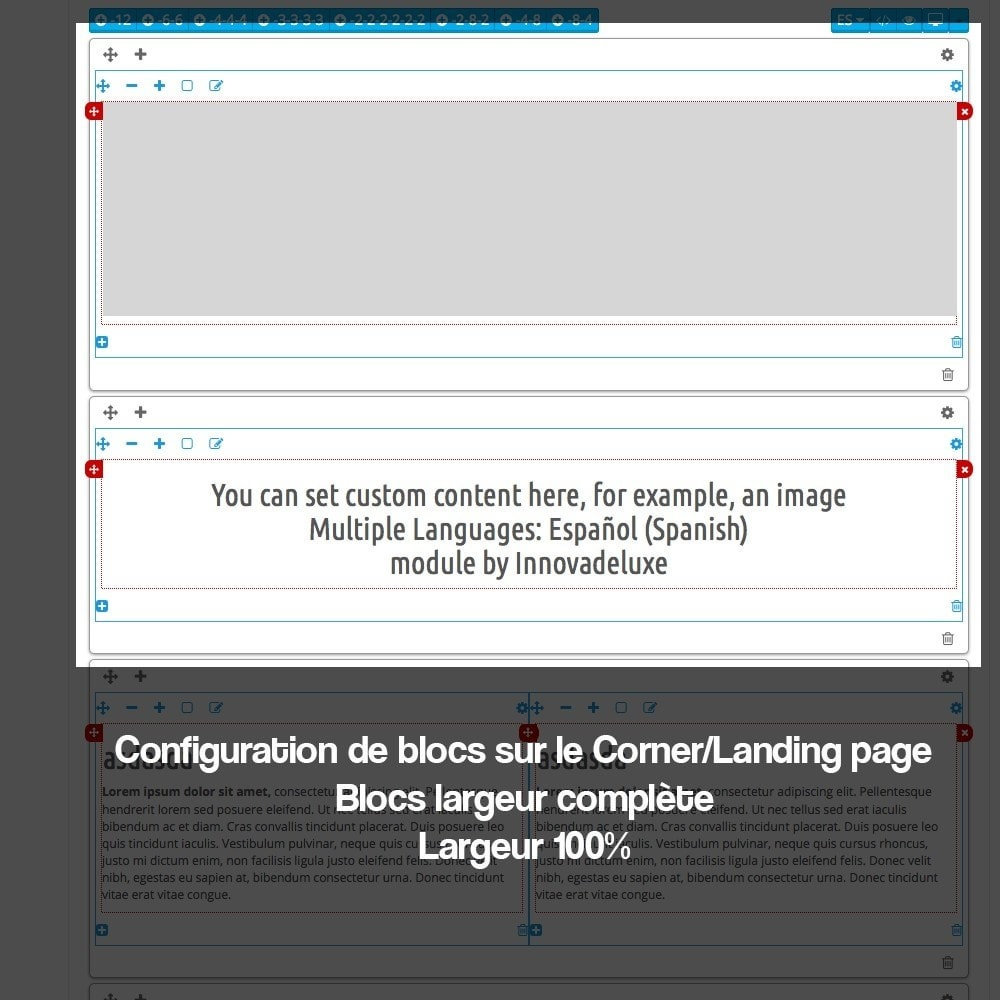 module - SEO (référencement naturel) - Créateur de Landingpages (corners) pour des marques - 11