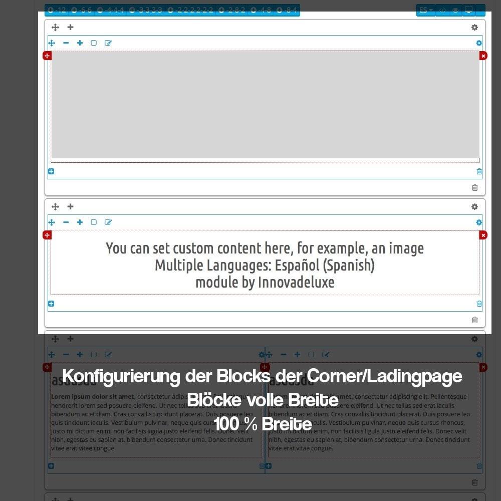 module - SEO - Modul zur Erstellung von Ladingpages-Corners für Marken - 11