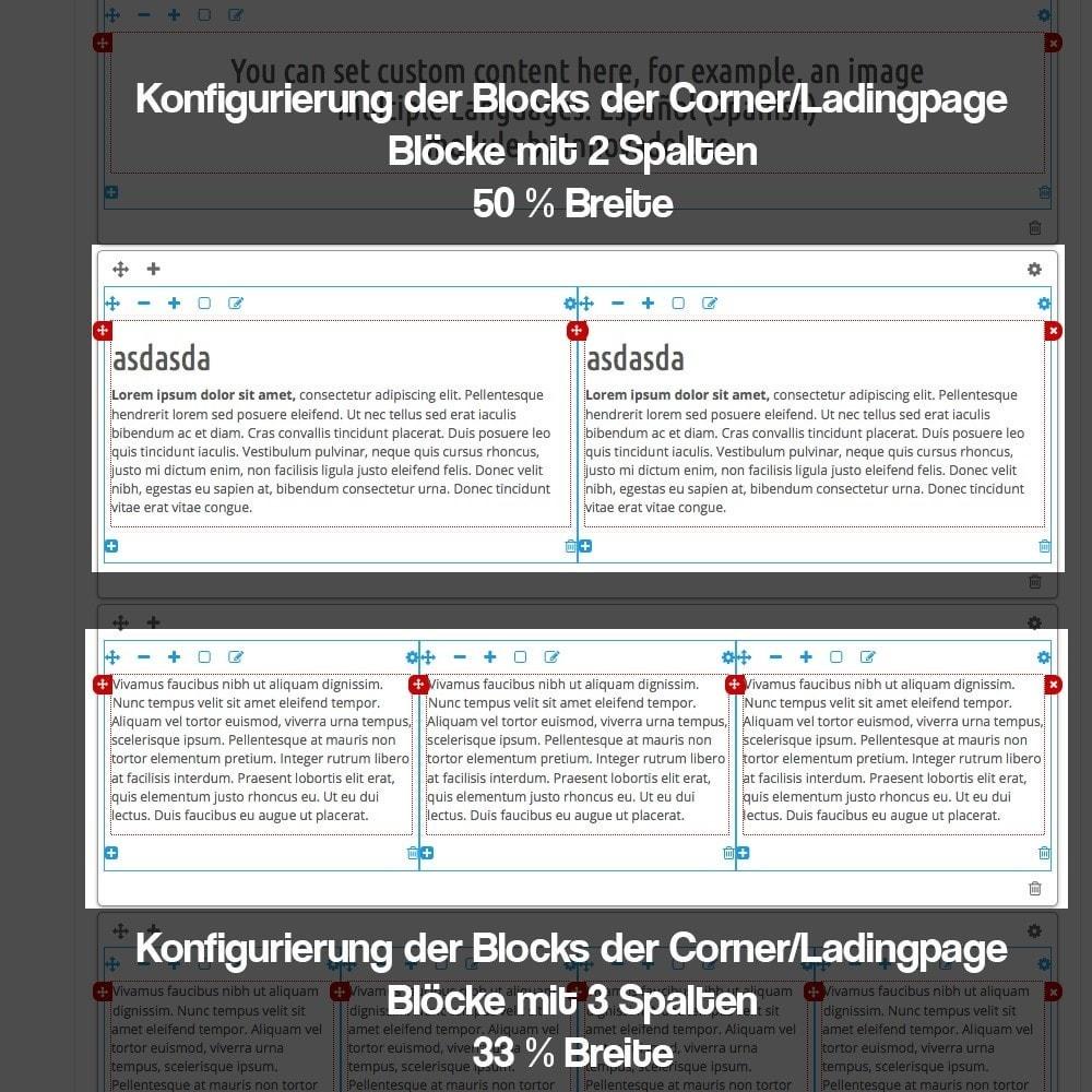 module - SEO - Modul zur Erstellung von Ladingpages-Corners für Marken - 12