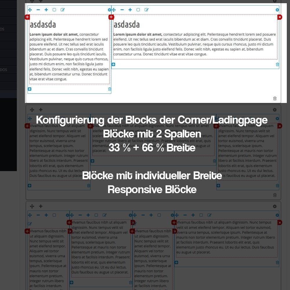 module - SEO - Modul zur Erstellung von Ladingpages-Corners für Marken - 14