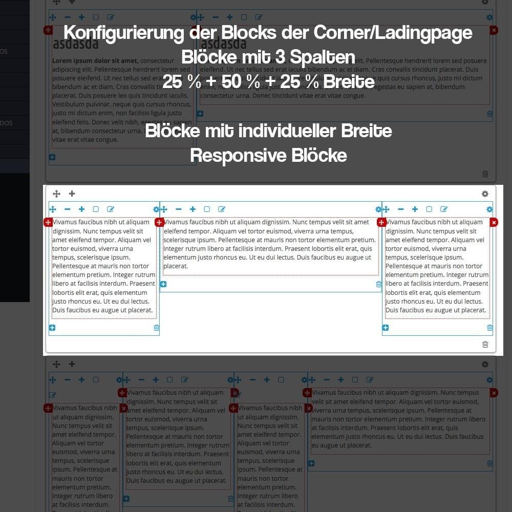 module - SEO - Modul zur Erstellung von Ladingpages-Corners für Marken - 15