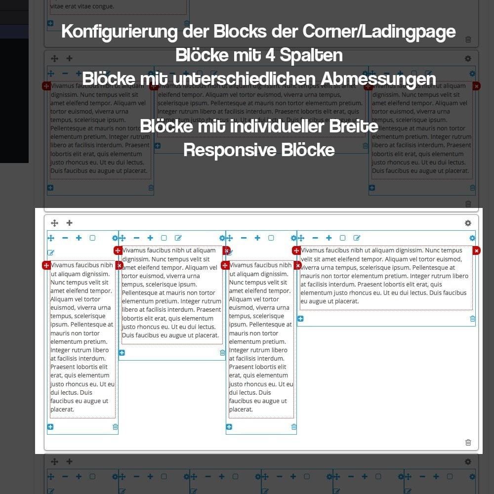 module - SEO - Modul zur Erstellung von Ladingpages-Corners für Marken - 16