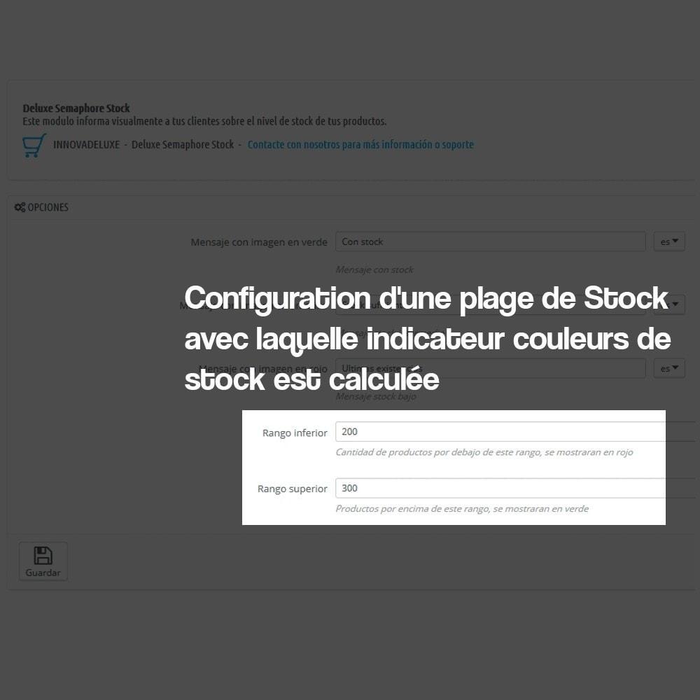 module - Information supplémentaire & Onglet produit - Indicateur de stock disponible sur fiche article - 8