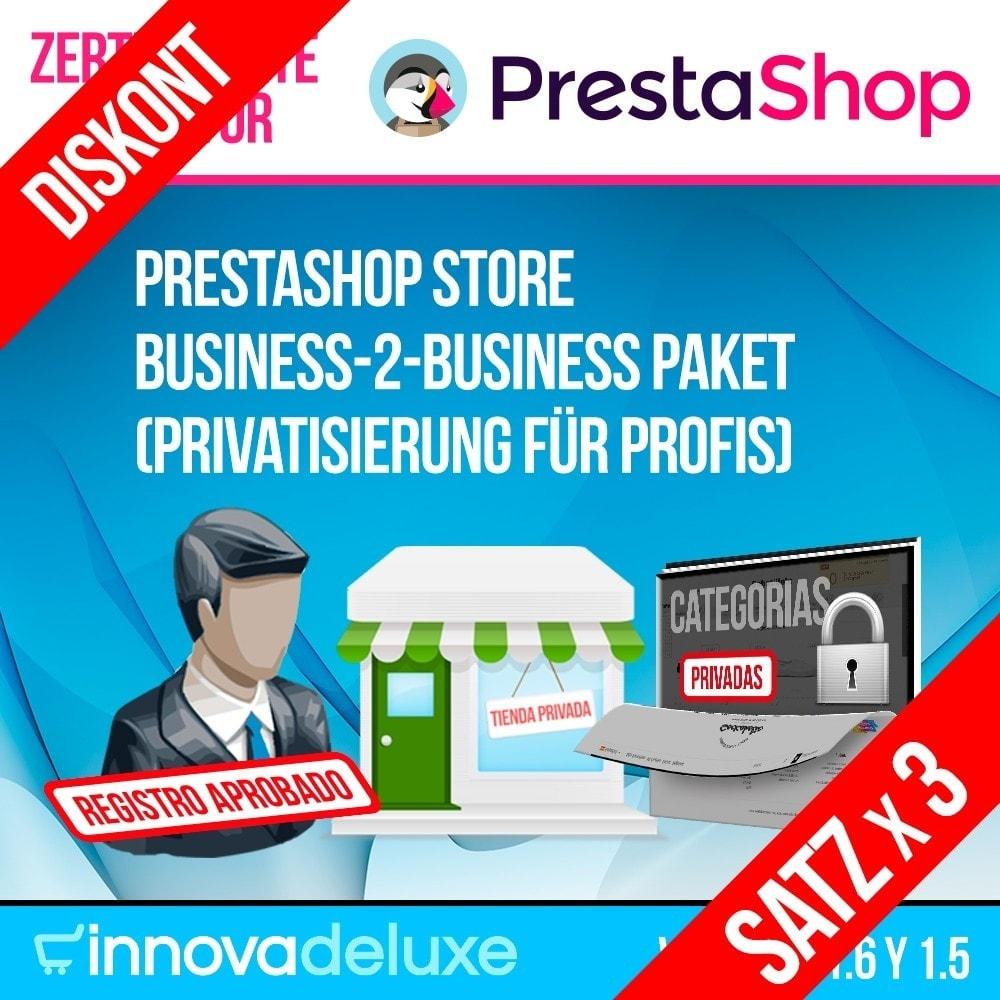 pack - B2B - Pack 1 - Store B2B Paket (Privatisierung für Profis) - 1