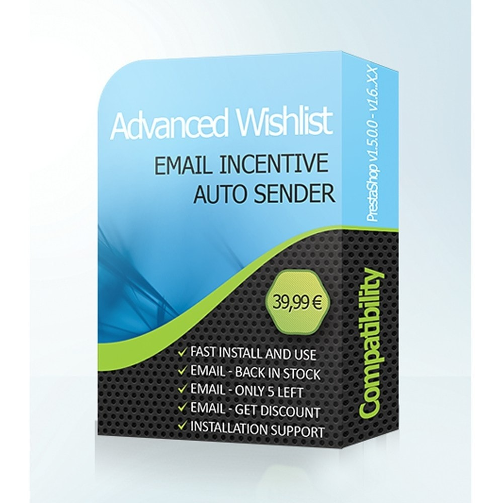 module - Wishlist & Gift Card - Advanced Wishlist & Auto Email Marketing - 1