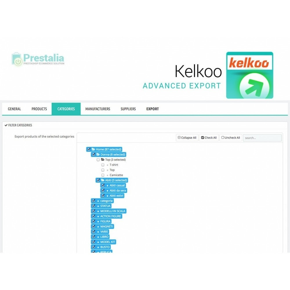 module - Price Comparison - Kelkoo - Export + Advanced Filters - 4