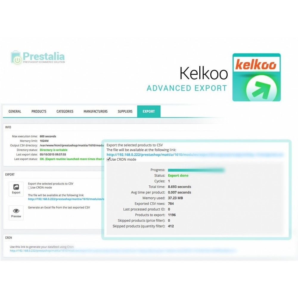 module - Price Comparison - Kelkoo - Export + Advanced Filters - 6