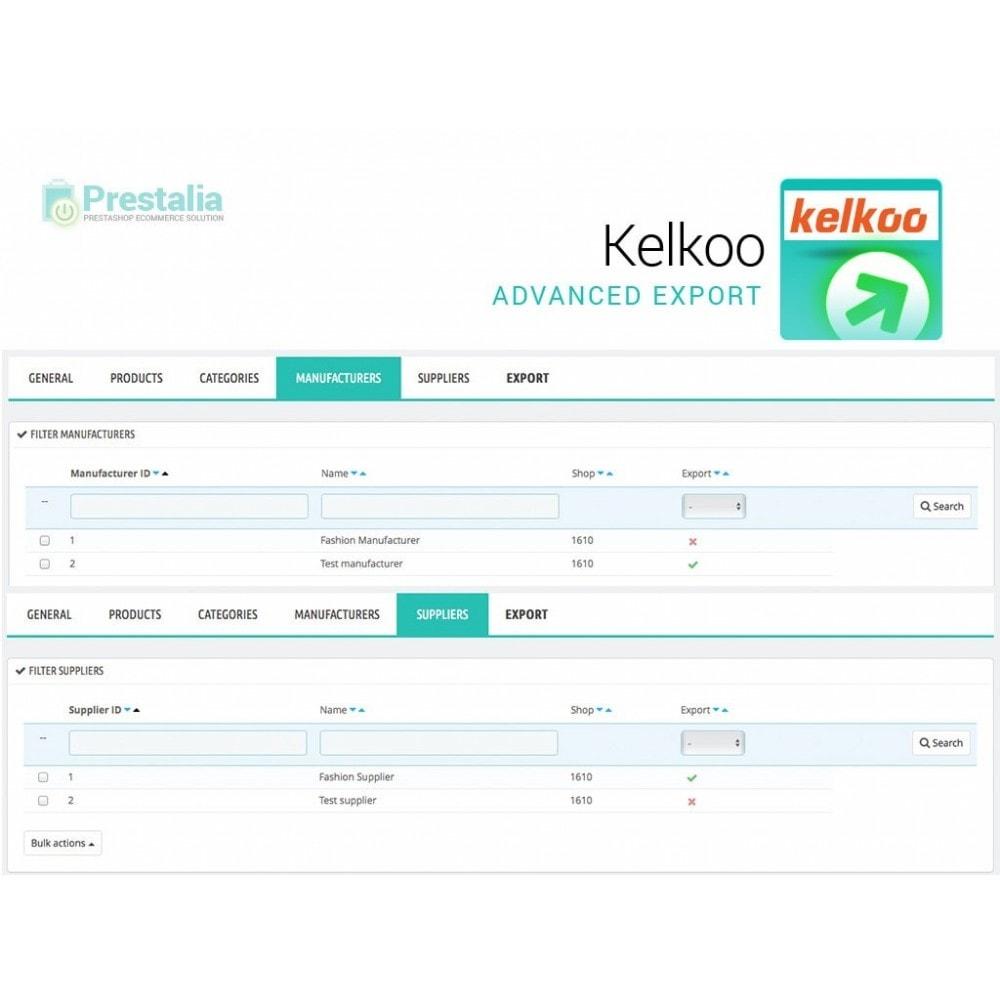 module - Comparatori di prezzi - Esporta per Kelkoo con filtri avanzati - 5