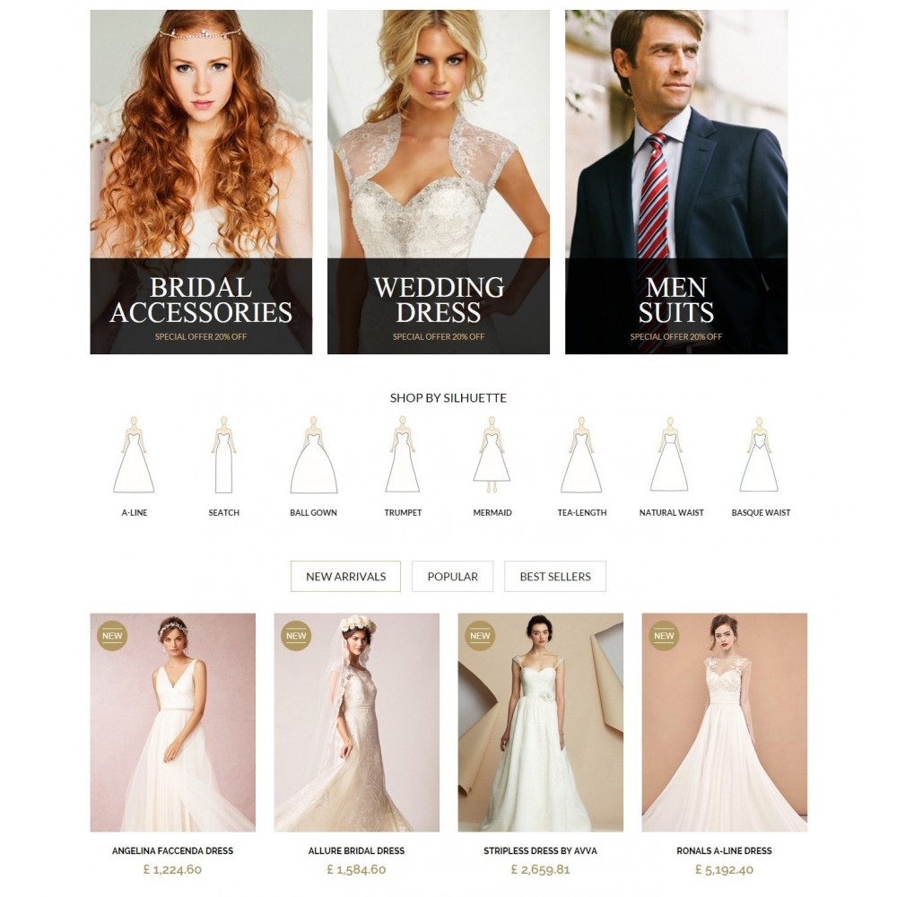 theme - Mode & Chaussures - WEDDING STORE 1.6 Responsive Template - 3