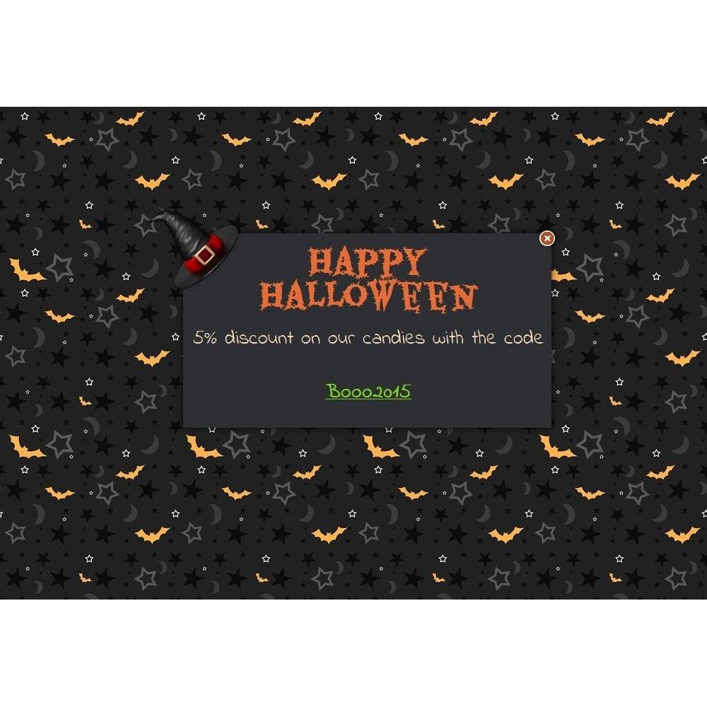 module - Всплывающие окна - Halloween message - 1