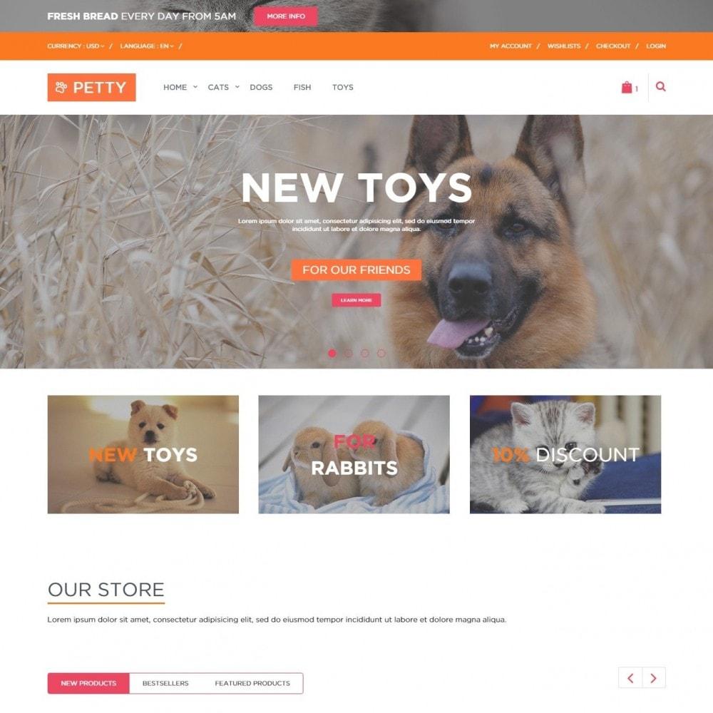 theme - Животные и домашние питомцы - Pets Тема для Магазина Животных - 2