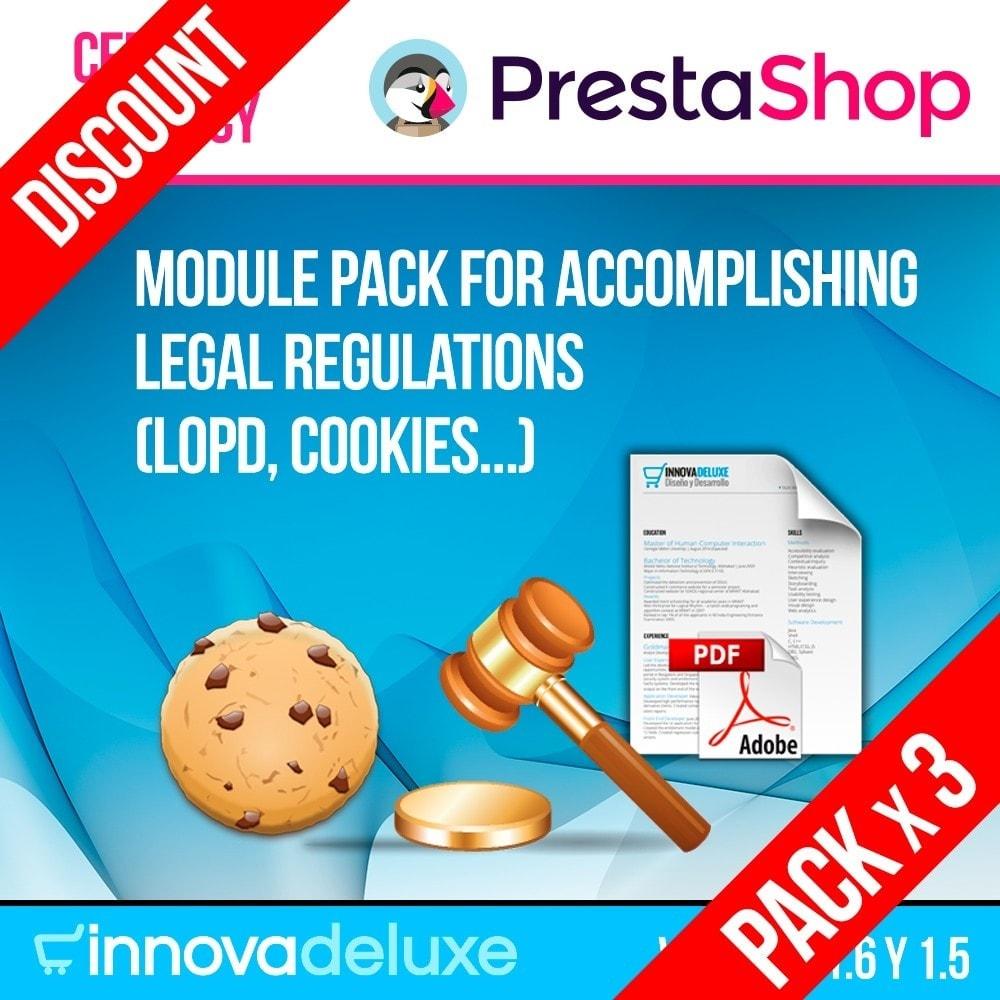 pack - Администрация - Pack 4 - Accomplishing legal regulations LOPD, cookies - 1