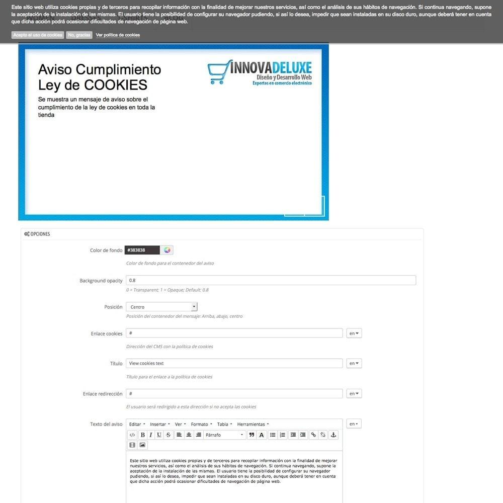 pack - Администрация - Pack 4 - Accomplishing legal regulations LOPD, cookies - 18