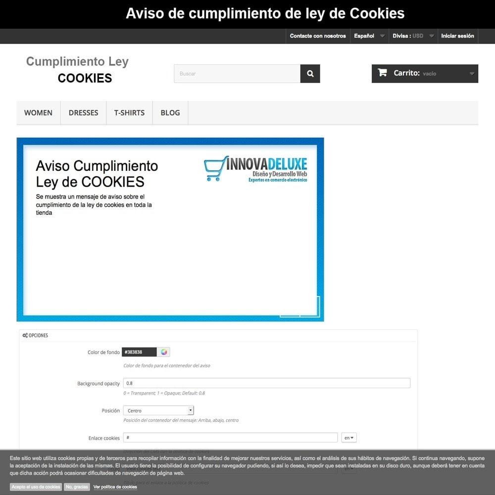 pack - Администрация - Pack 4 - Accomplishing legal regulations LOPD, cookies - 20