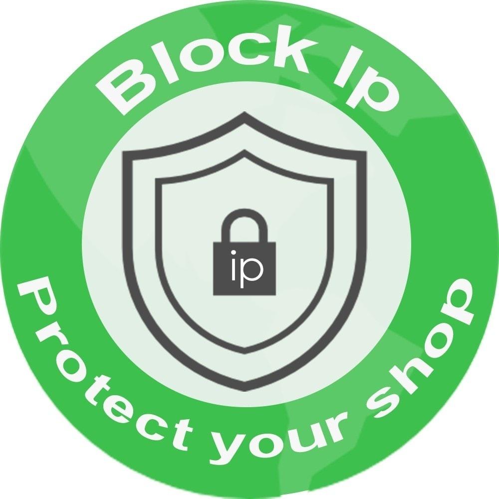 module - Bezpieczeństwa & Dostępu - block ips - 2