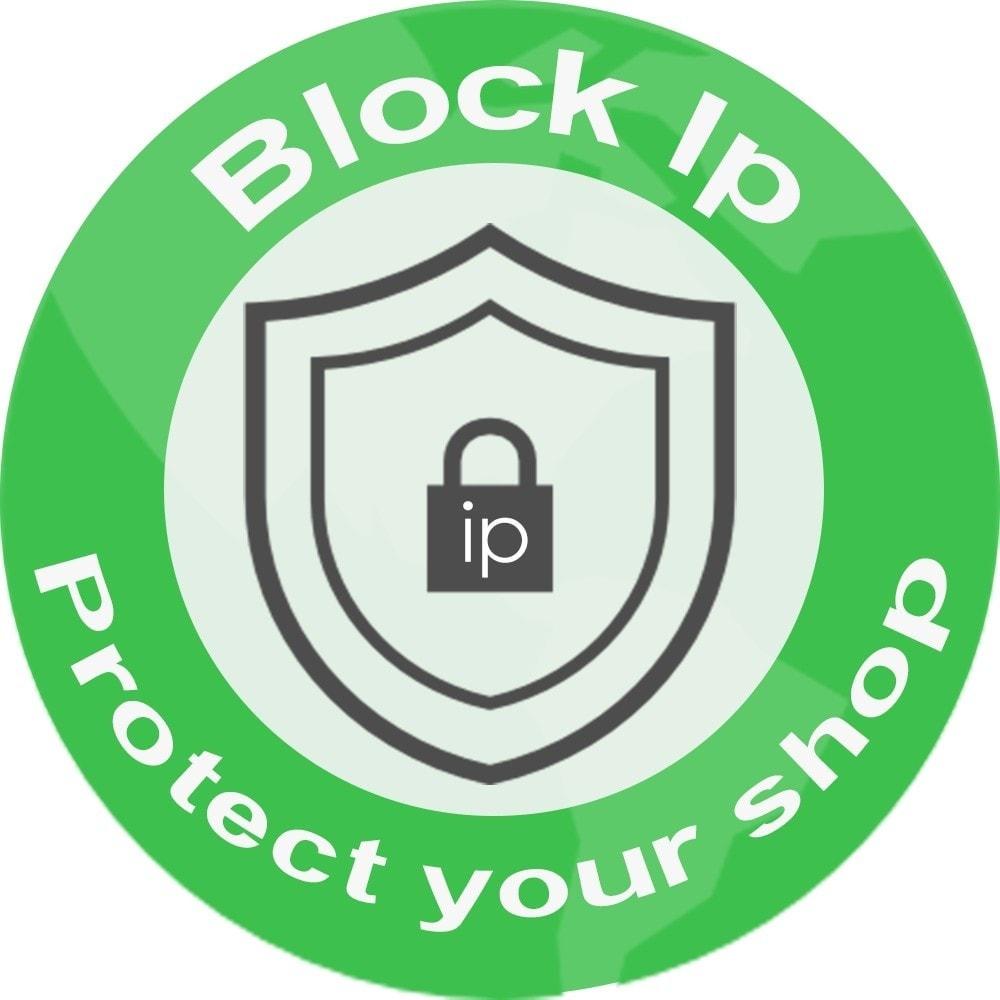 module - Seguridad y Accesos - Bloquear dirección Ip - 1