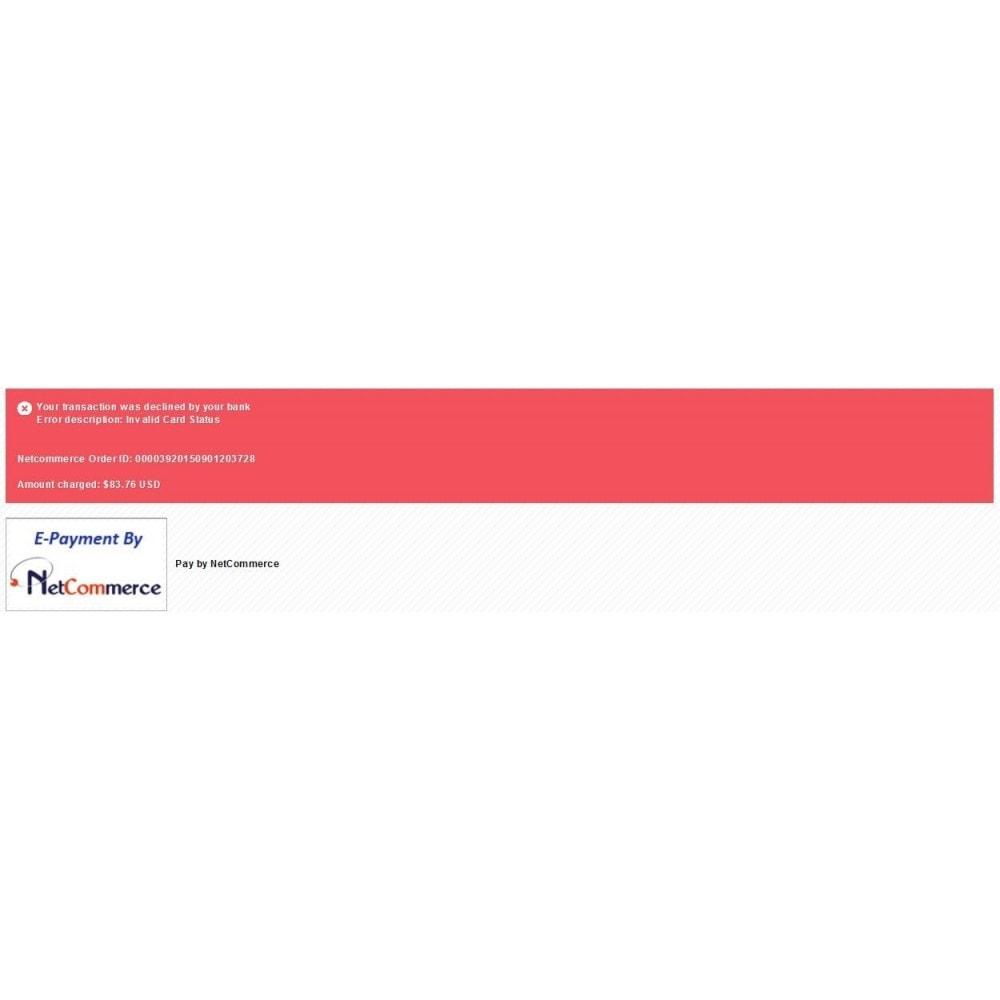 module - Pago con Tarjeta o Carteras digitales - Pasarela de pago a traves de Netcommerce - 2