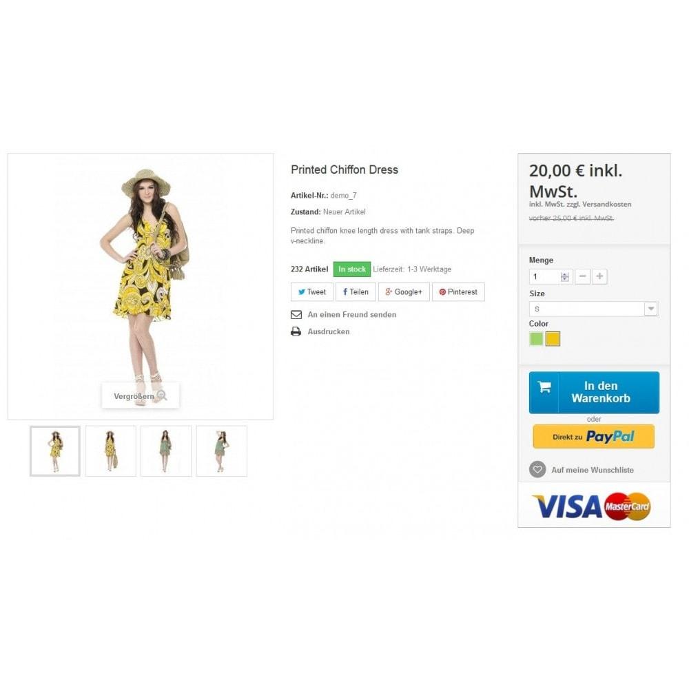 module - Zahlung per Kreditkarte oder Wallet - PayPal Plus - Rechnung, Lastschrift, Kreditkarte - 7
