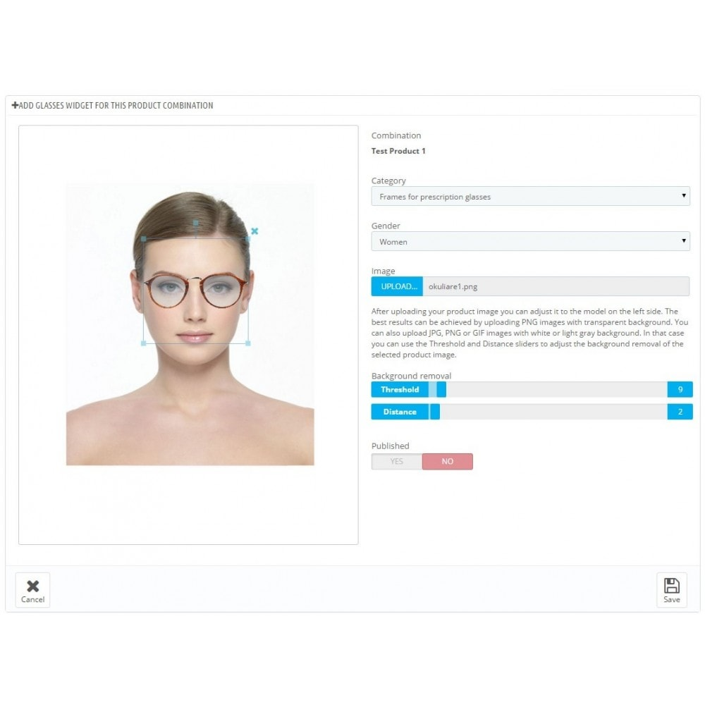 module - Wirtualne produkty - The Magic Mirror Virtual Try On plugin - 5