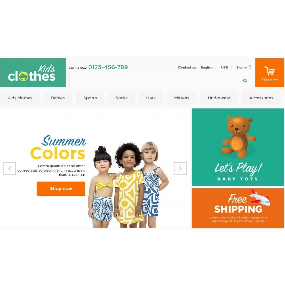 theme - Enfants & Jouets - Kids Clothes 1.6 Responsive - 3