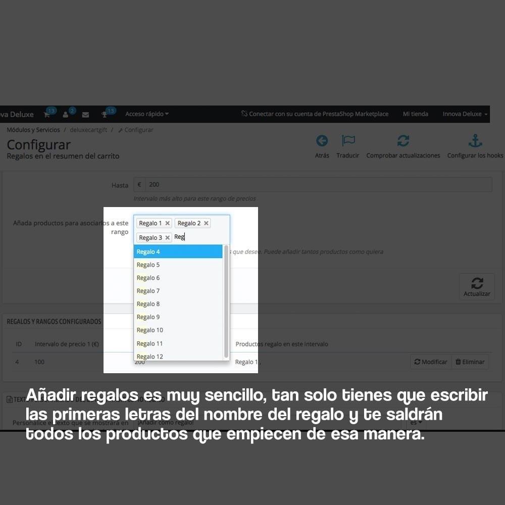 module - Promociones y Regalos - Regalos en la cesta para incrementar valor del pedido - 4