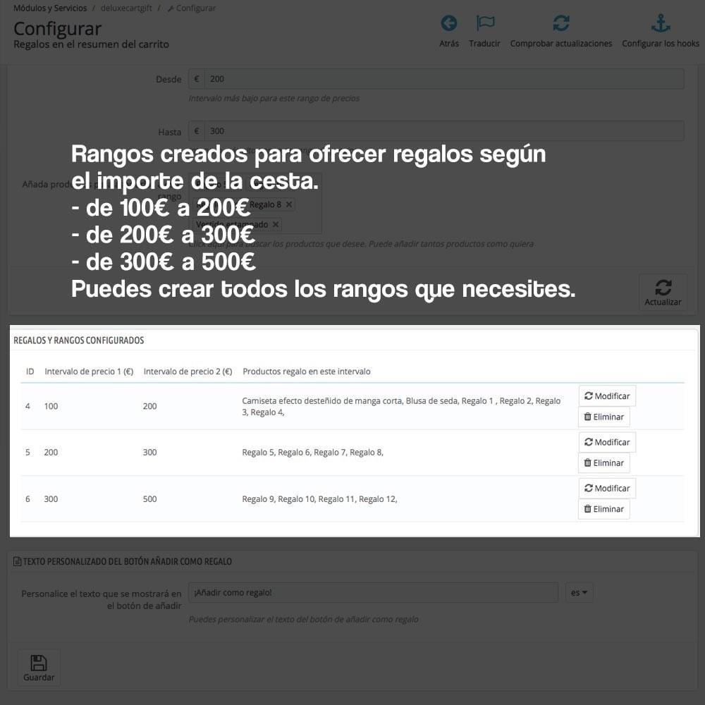 module - Promociones y Regalos - Regalos en la cesta para incrementar valor del pedido - 5