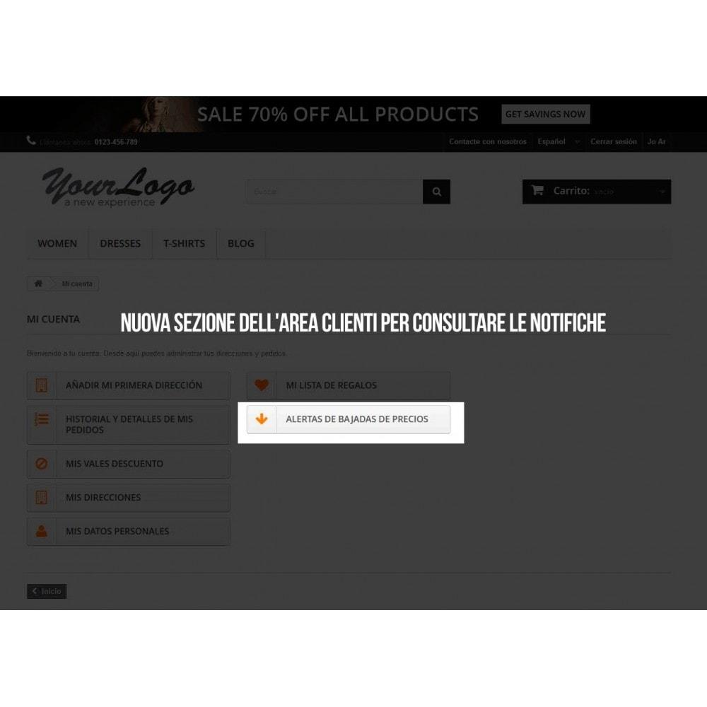 module - Email & Notifiche - Sottoscrizione di notifiche per riduzioni di prezzo - 5