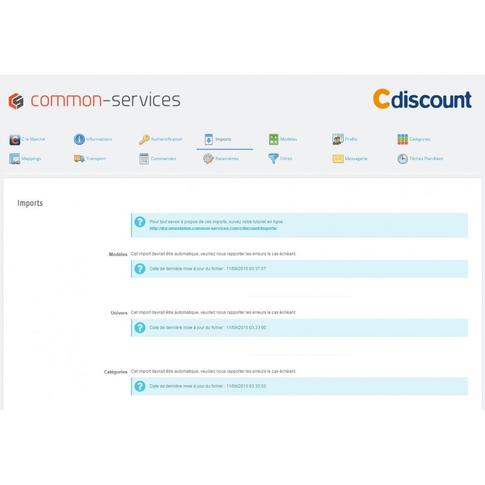 module - Marketplaces - Cdiscount Marketplace - 5