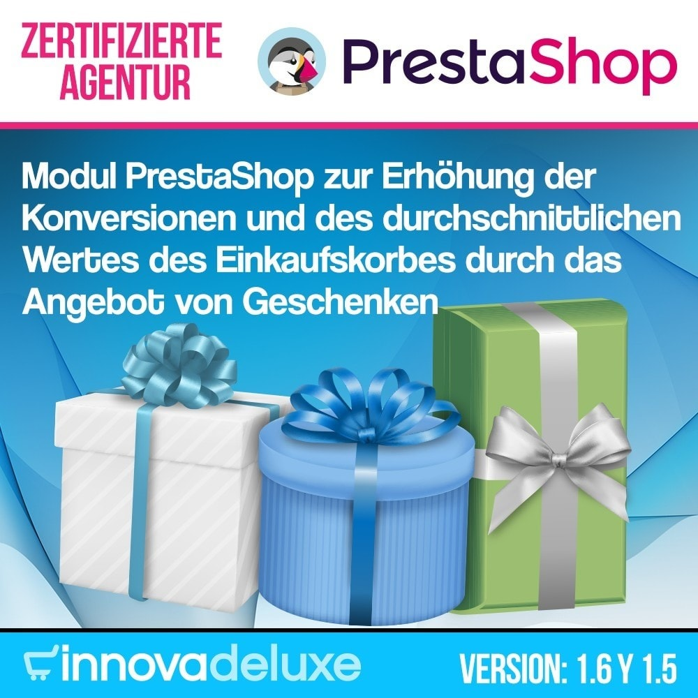 module - Promotion & Geschenke - Gifts in shopping carts to increase order price - 1