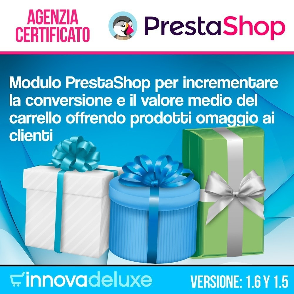 module - Promozioni & Regali - Gifts in shopping carts to increase order price - 1