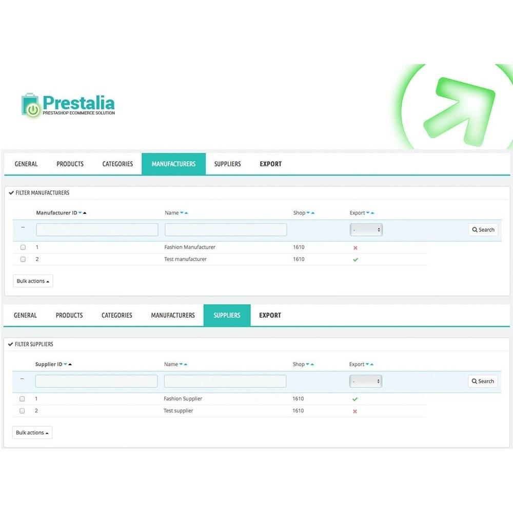 module - Import & Export de données - Exportation TrovaPrezzi avec filtres avancés - 6