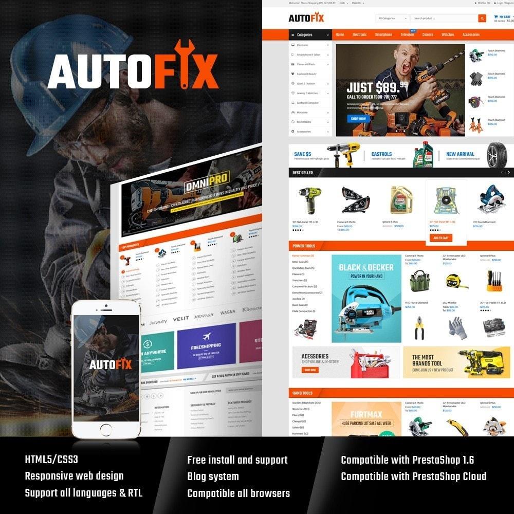 theme - Coches y Motos - Autofix - Tools Store - 1