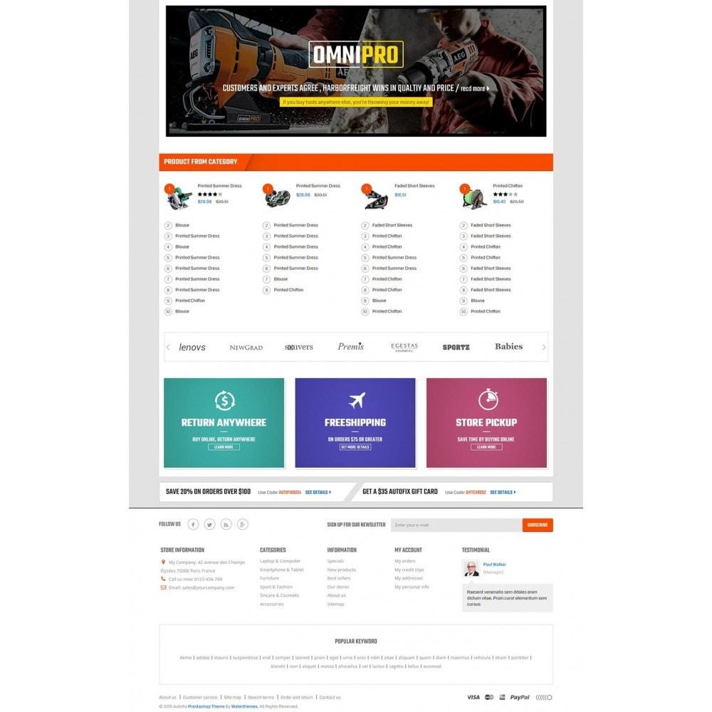 theme - Coches y Motos - Autofix - Tools Store - 3