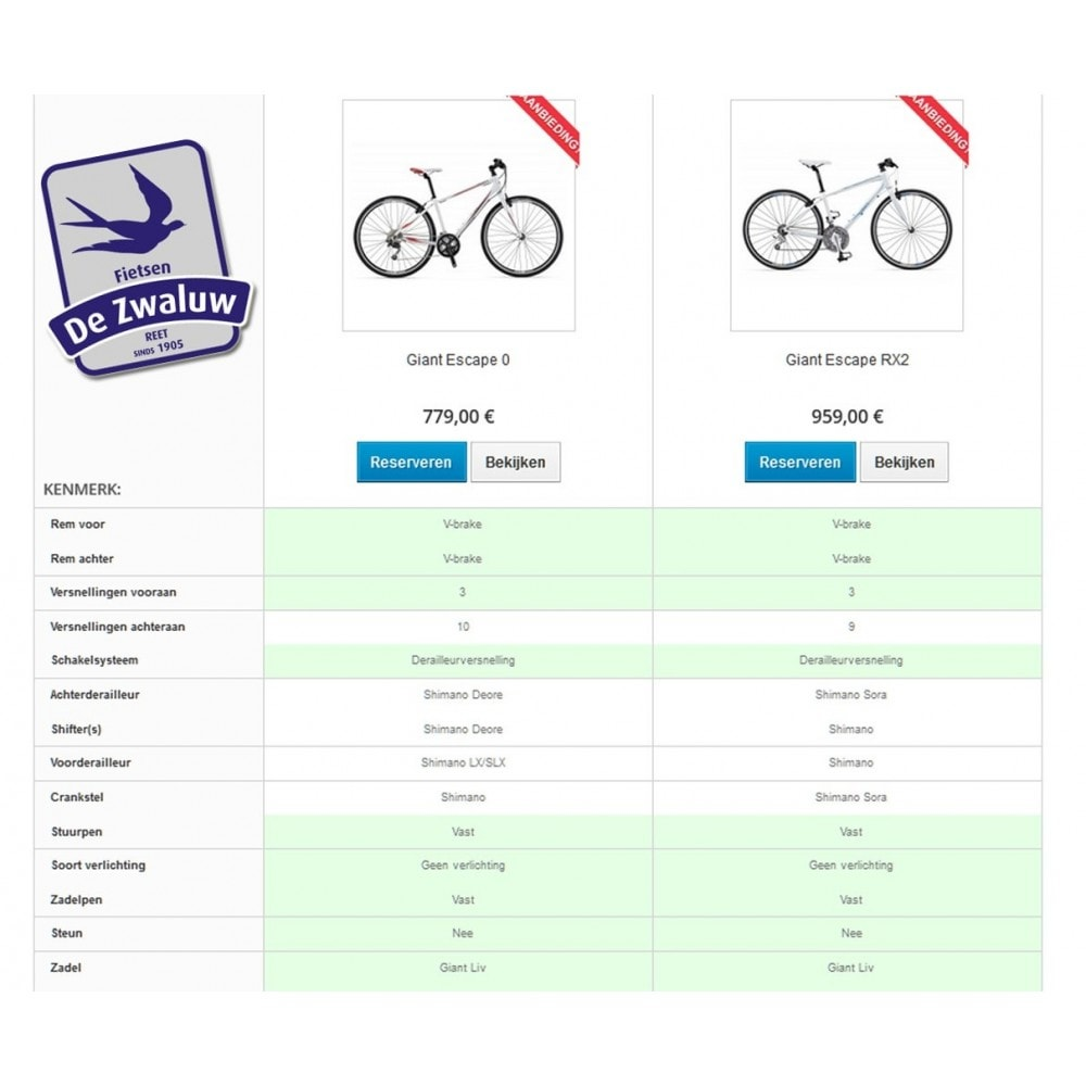 module - Price Comparison - Product Comparison Highlighter/Print Compare Area Only - 4