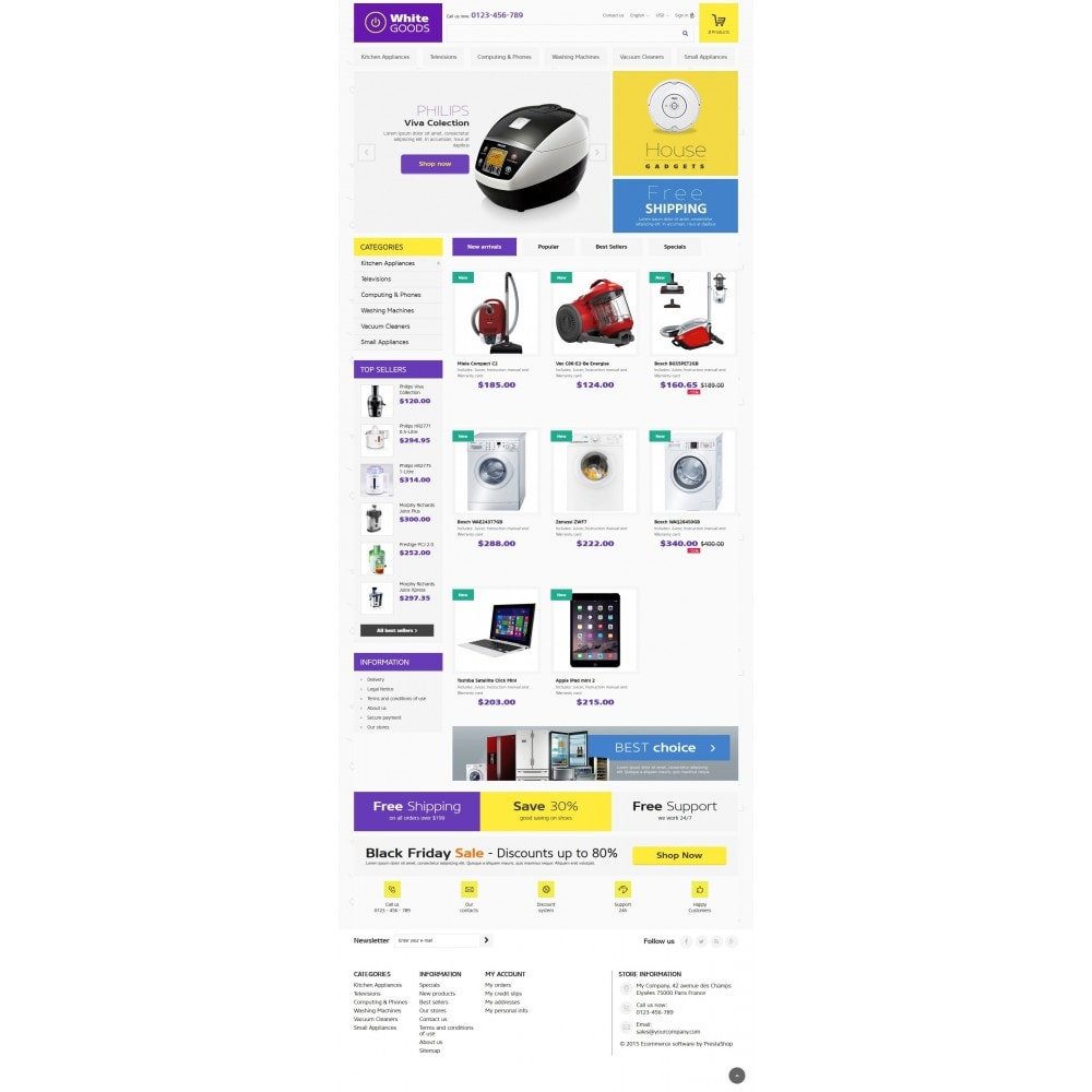 theme - Электроника и компьютеры - Appliances & White goods - 2