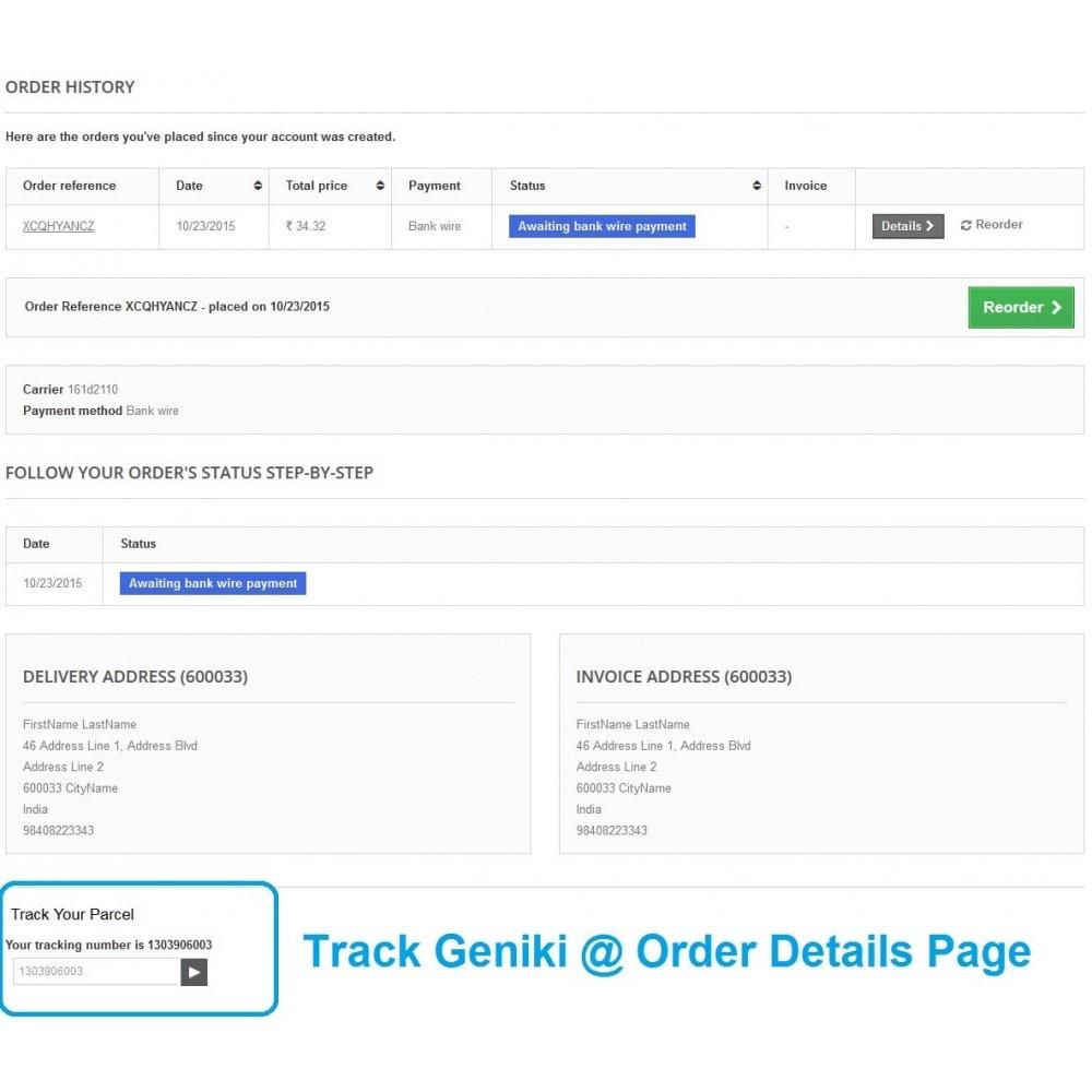 module - Kommissionierung & Versand - Track Geniki Taxydromiki. Create and print voucher - 3