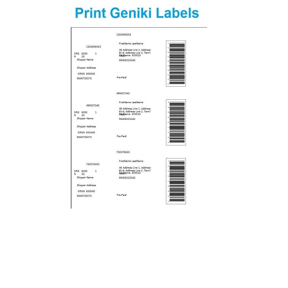 module - Kommissionierung & Versand - Track Geniki Taxydromiki. Create and print voucher - 4