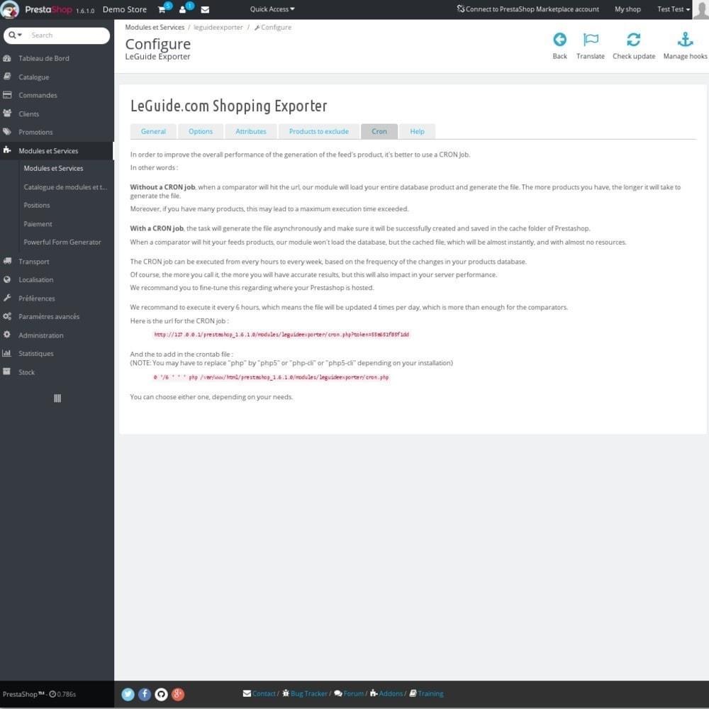 module - Preisvergleiche - LeGuide Exporter - 7