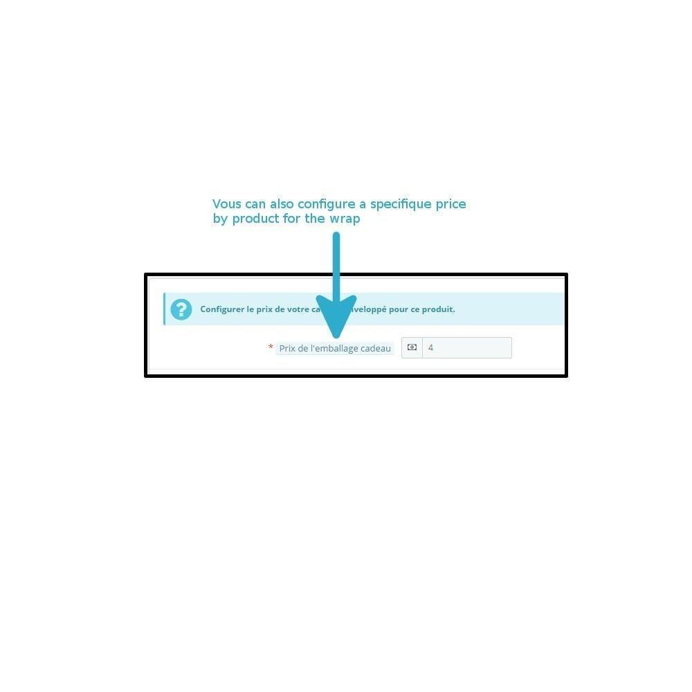 module - Inscripción y Proceso del pedido - Wrapping gift improved - 3