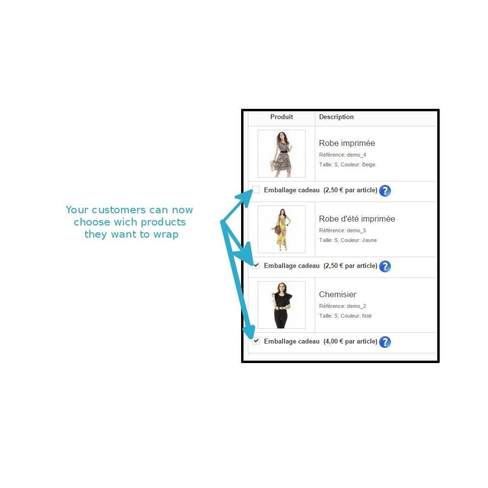 module - Inscripción y Proceso del pedido - Wrapping gift improved - 4