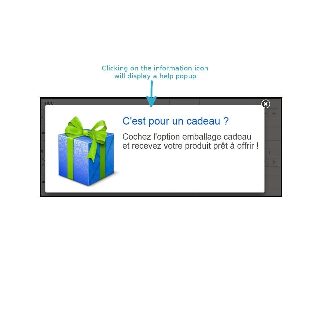 module - Inscripción y Proceso del pedido - Wrapping gift improved - 5