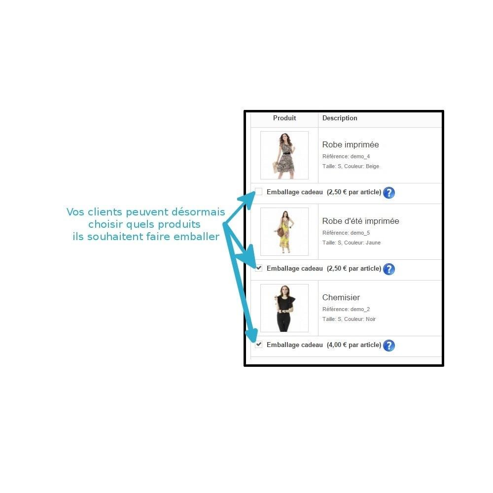 module - Inscription & Processus de commande - Emballage cadeau - 4