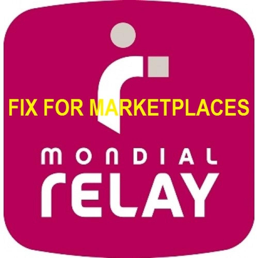 module - Suivi de livraison - Mondial Relay Fix For Marketplaces - 1