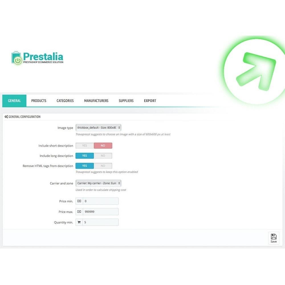 module - Porównywarki cen - Pricerunner - Eksport + Zaawansowane filtry - 2