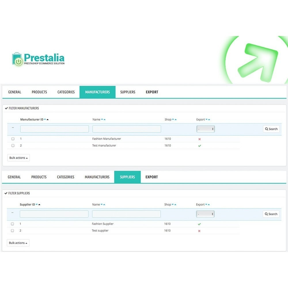 module - Porównywarki cen - Pricerunner - Eksport + Zaawansowane filtry - 5